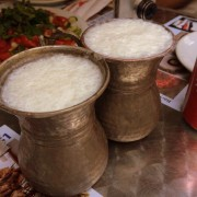 Two cups of delicious Ayran